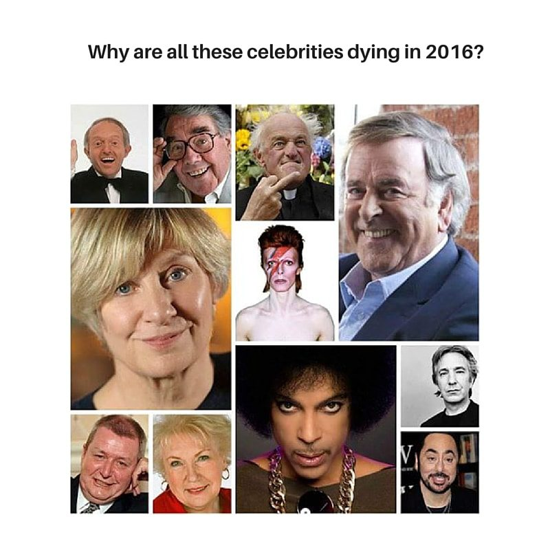Why are all these celebrities dying in 2016?